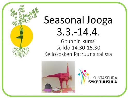 Seasonal jooga-kurssi