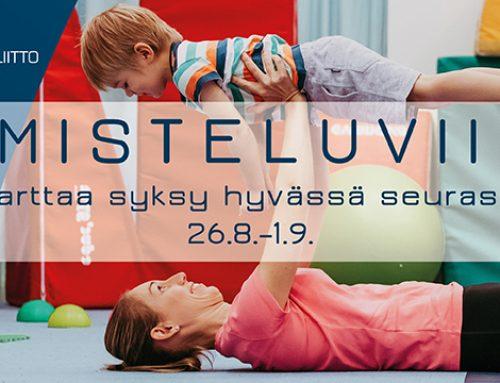Starttitapahtuma Kellokoskella su 1.9. klo 10-12