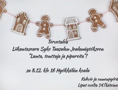 Joulunäytös su 8.12. klo 16 Hyökkälän koululla